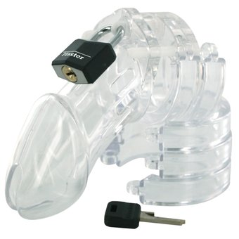 CB6000 Chastity Device made in polycarbonate by AL Enterprises