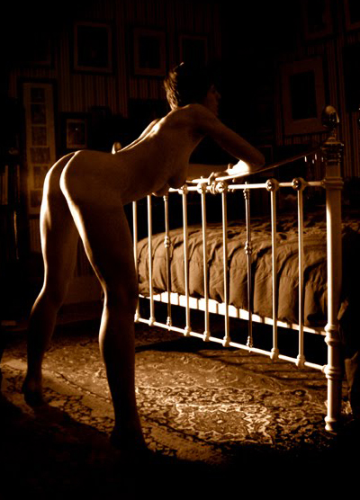China Hamilton Photo of woman waiting to be spanked