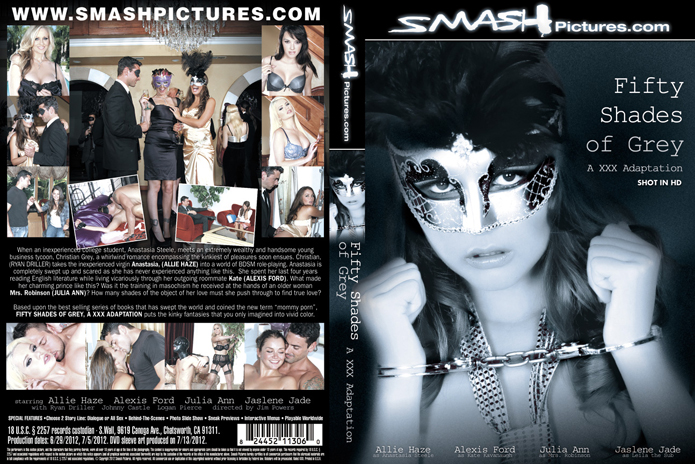 Cover of Smashing Pictures DVD 50 shades of grey adaptation