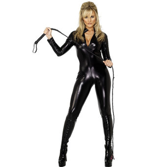 Miss Whip Lash Catsuit - Now Make Him Pay!